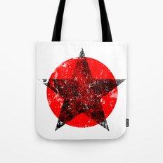 Circle and star Tote Bag