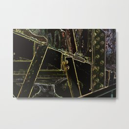 Redbrook Bridge Metal Print
