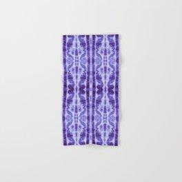 Tie Dye Twos Violet Hues Hand & Bath Towel