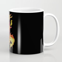 Ablaze Carbuncle Coffee Mug