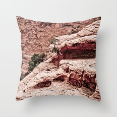 THE HEART OF THE MOUNTAINS Throw Pillow