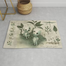 Natural Histories - Forest Spirit studies Rug