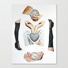 Complex Babe Canvas Print