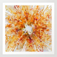 Autumn Leaf Fall Art Print