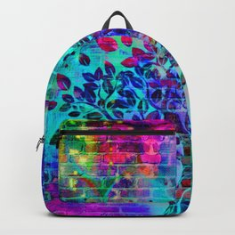 wall graffiti Backpack