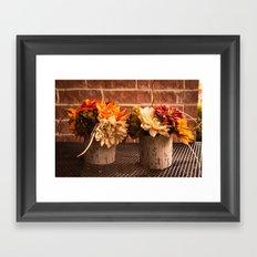 Autumn Arrangement Framed Art Print