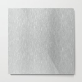 Aluminum Brushed Metal Metal Print