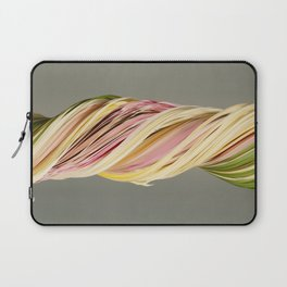 Old bouquet (slit scan) Laptop Sleeve
