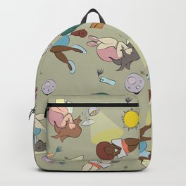 For the love of Books 02 Backpack