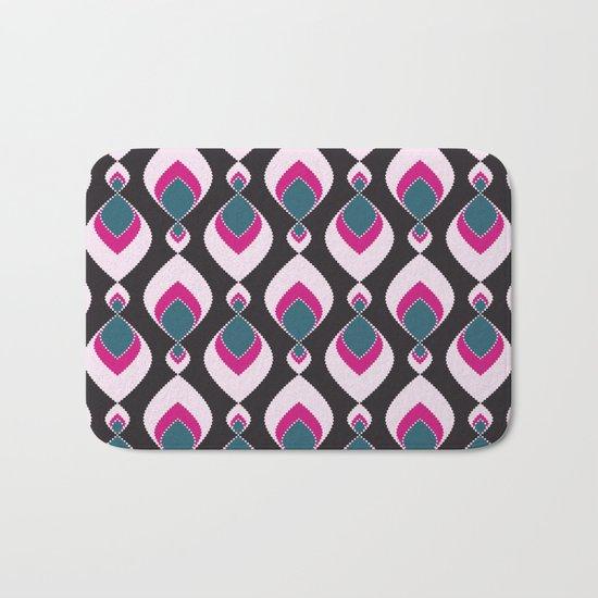 Multi-colored pattern . Bath Mat