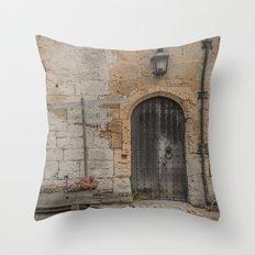 castle door... Throw Pillow