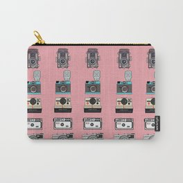 Camera Collection (Pink) Carry-All Pouch