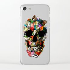 Fragile Skull Clear iPhone Case
