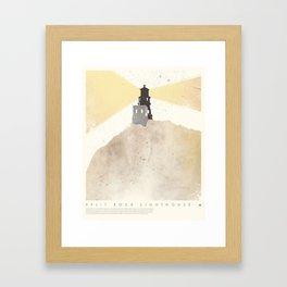 Split Rock Lighthouse - Two Harbors, MN Framed Art Print