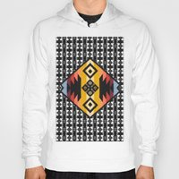 boho Hoodies featuring Boho Mapuche by Julie Couto
