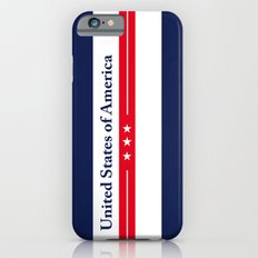USA United States of America Vintage Decoration Poster iPhone 6s Slim Case
