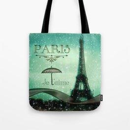 Paris... Je t'aime Tote Bag