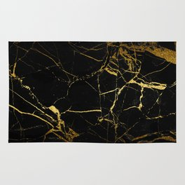 Golden Marble Rug