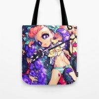 barachan Tote Bags featuring tentacles by barachan