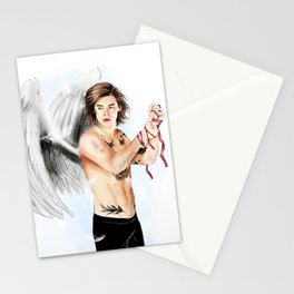 Angel with a shotgun  Stationery Cards