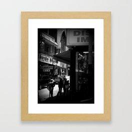 CANTON BAZAAR Framed Art Print