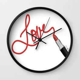 Lippie Wall Clock