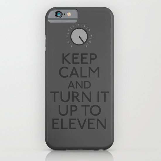 Turn it up to eleven iPhone & iPod Case