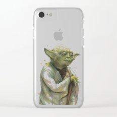 Yoda Portrait Clear iPhone Case
