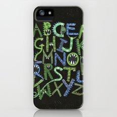 Monster Alphabet. iPhone (5, 5s) Slim Case
