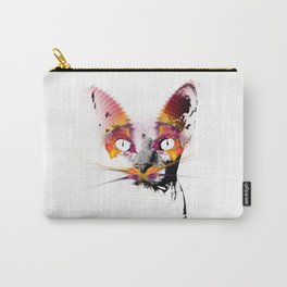 magic cat black and white #cat #kitty Carry-All Pouch