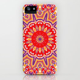 Oriental Kaleido 9 iPhone Case