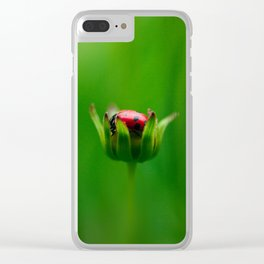 Hiding From Everything Clear iPhone Case
