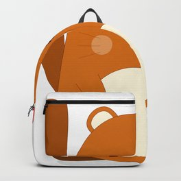 Cartoon Animal Squirrel Backpack