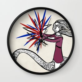 My superpowers Wall Clock