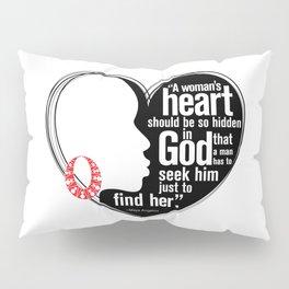 A Woman's Heart Pillow Sham