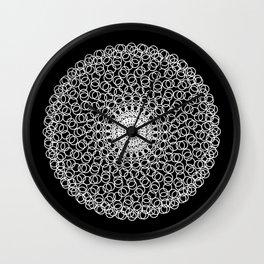 Circle Mandala Wall Clock