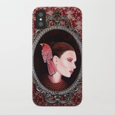 Dame Kardinal fig2 iPhone X Slim Case