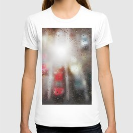 Raindrops on the window  T-shirt