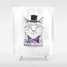 MR. CAT Shower Curtain