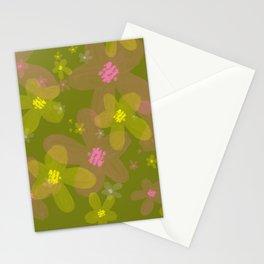 Olive spring Stationery Cards