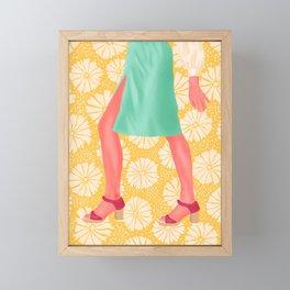 Dance of the Flower Lady Framed Mini Art Print
