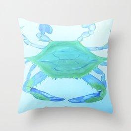 Chesapeake Blue Crab Throw Pillow