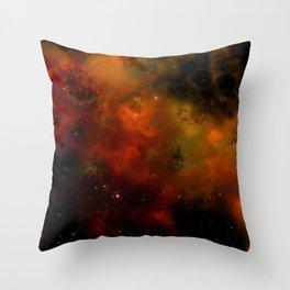 Cosmic Nebula In Space Throw Pillow
