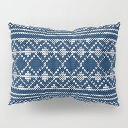 Scandinavian knitted pattern Pillow Sham