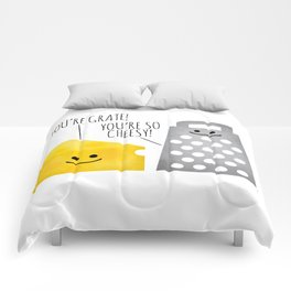 Cheesy Couple Comforters