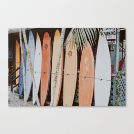 lets surf ii Canvas Print