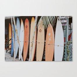 lets surf ii Canvas Print