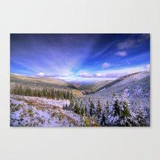 Winter Lands II Canvas Print
