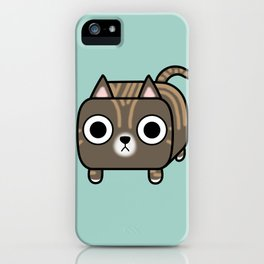 Cat Loaf - Brown Tabby Kitty iPhone Case