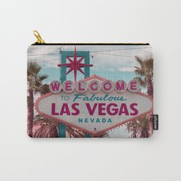 Welcome To Fabulous Las Vegas Nevada Carry-All Pouch